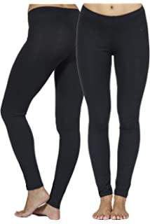 In Touch Cotton Spandex Leggings: Tights for Women, Running, Dance, Yoga,