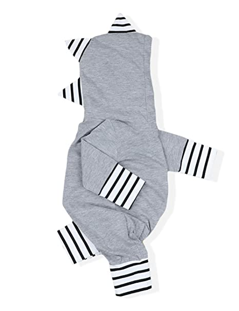 c611ede5946 YOUNGER TREE Infant Baby Boys Girls Long Sleeve Romper Cute Funny Dinosaur  Bodysuit Jumpsuit Fall Winter