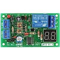 1 stuk DC  12V LED-display countdown timer instelbaar schakelmodule relais aan-/uitschakelaar module…