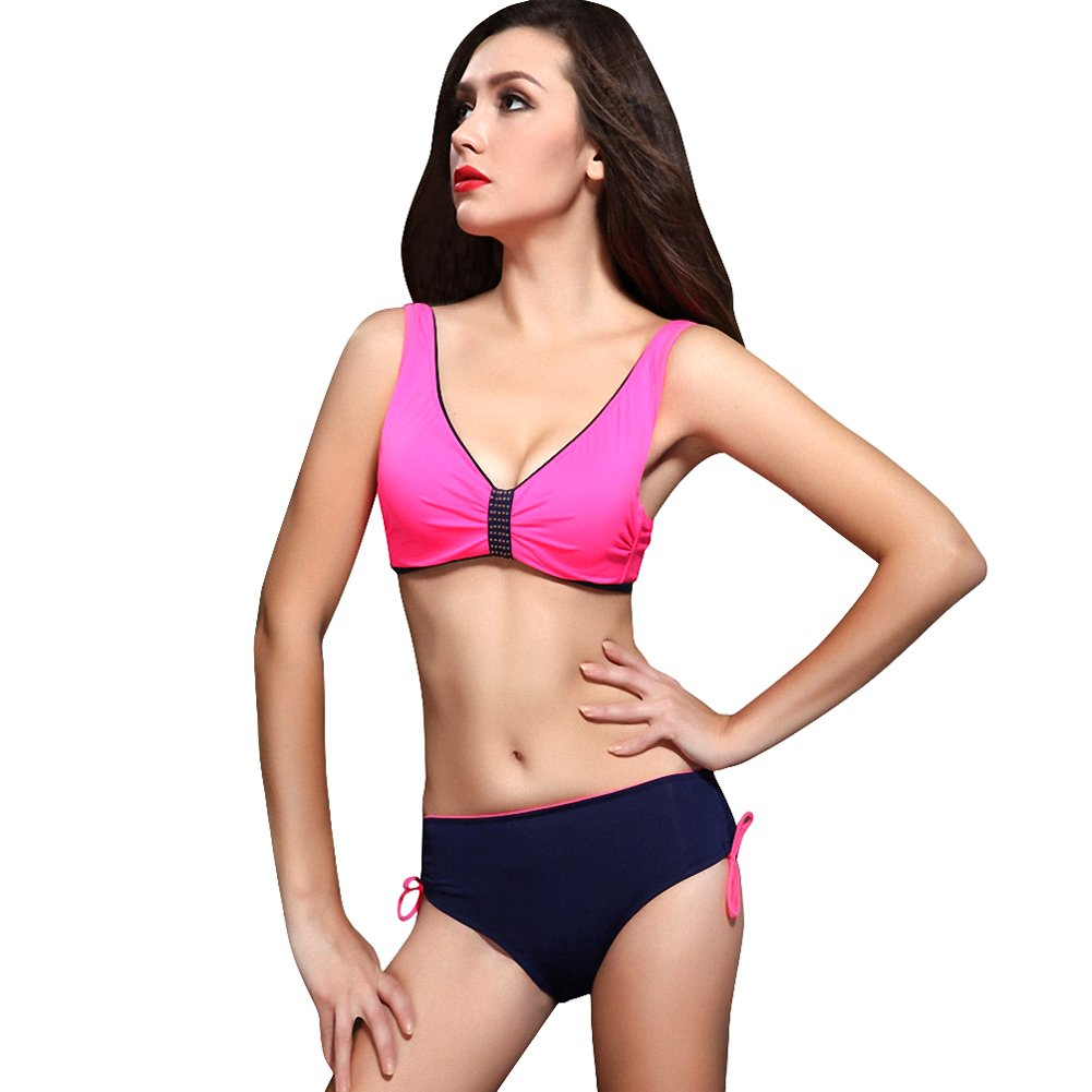 9c6b0a008f4 Foclassy Women's Push Up Underwire Busty Support Bikini Bathing Suit  Swimsuit: Amazon.ca: Clothing & Accessories