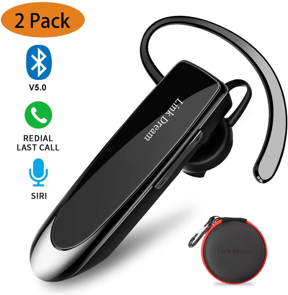 Link Dream Bluetooth Earpiece for Cell Phone