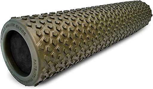 Deep Tissue and Myofascial Release -Exercise Physical Therapy High Density Muscle Foam Rollers by Day 1 Fitness 4 SIZE OPTIONS and 7 COLORS TO CHOOSE FROM Sports Massage Rollers for Stretching