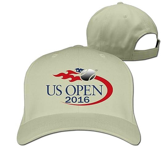 EJFSMQ Tennis US Open 2016 Flat-Along Dad Cap Logo Print Style Hat Snapback a6731508d3d