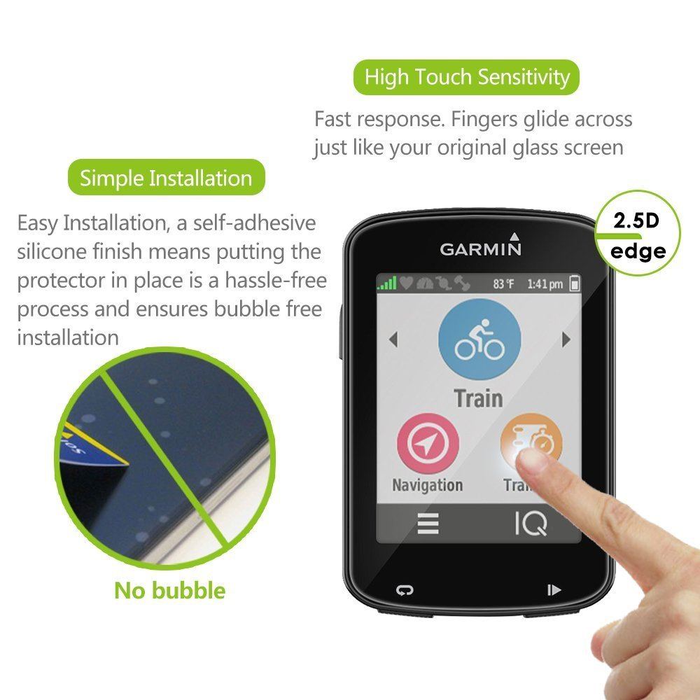 BECEMURU Garmin Edge 820 - Protector de pantalla para Garmin Edge 820 Smartwatch (2 unidades): Amazon.es: Electrónica