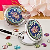 60 Indian Elephant Themed Metal Compact Mirror