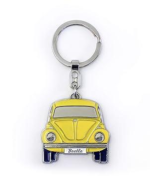 Brisa VW Collection VW Escarabajo Llavero en Caja de Regalo - Amarillo