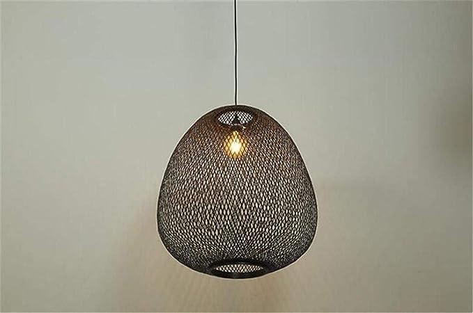 Plafoniere Vimini : Moontang lampadario soffitto ciondolo luce paralume sospeso lattice