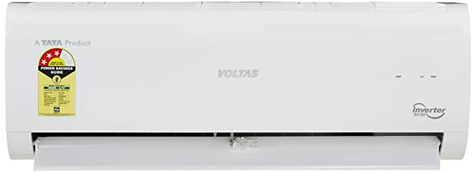 04d7c020763 Image Unavailable. Image not available for. Colour  Voltas 1 Ton 3 Star  Inverter Split AC (Copper ...