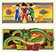 American Art Classics Pack of 5 - Dragon Ball Z Million Dollar Bill - Best Gift Or Party Favor for Lovers of This Awesome Show