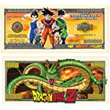 American Art Classics Pack of 25 - Dragon Ball Z Million Dollar Bill - Best Gift Or Party Favor for Lovers of This Awesome Show