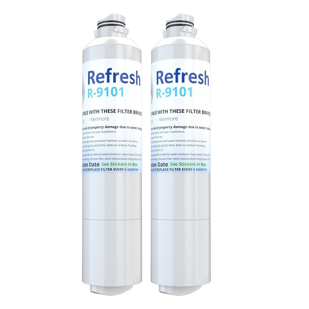 Refresh DA29-00020B Replacement for Samsung DA29-00020B, HAF-CIN/EXP, 46-9101 Refrigerator Water Filter (2)