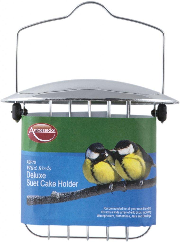 Ambassador Wild Birds Deluxe Suet Cake Holder (329512)