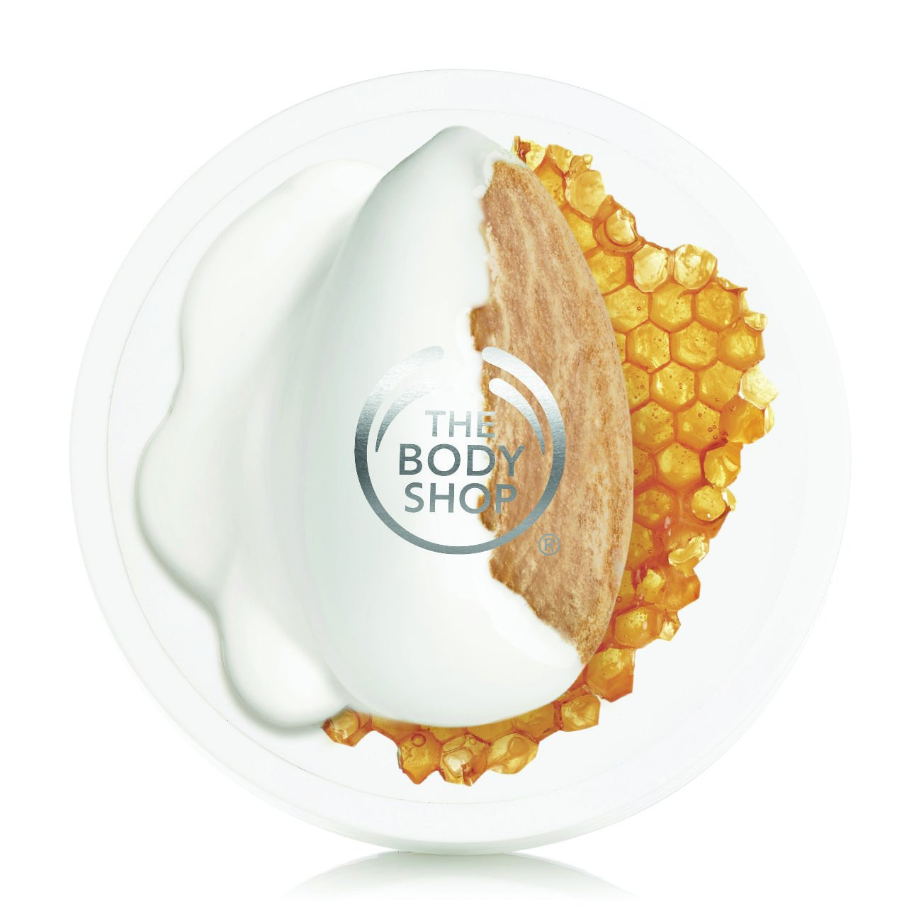 The Body Shop Almond Milk & Honey Body Butter, For Sensitive, Dry Skin, 6.9 Oz. by The Body Shop