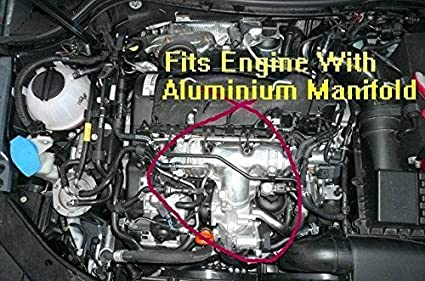 Vw Audi Seat Skoda 2 0 Tdi Intake Manifold 03l129711e P2015 Repair Bracket Fix Auto