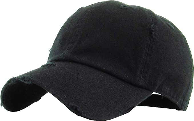 H-218-D06 Distressed Dad Hat Vintage Low Profile Polo Style Baseball Cap - ca4534c33da