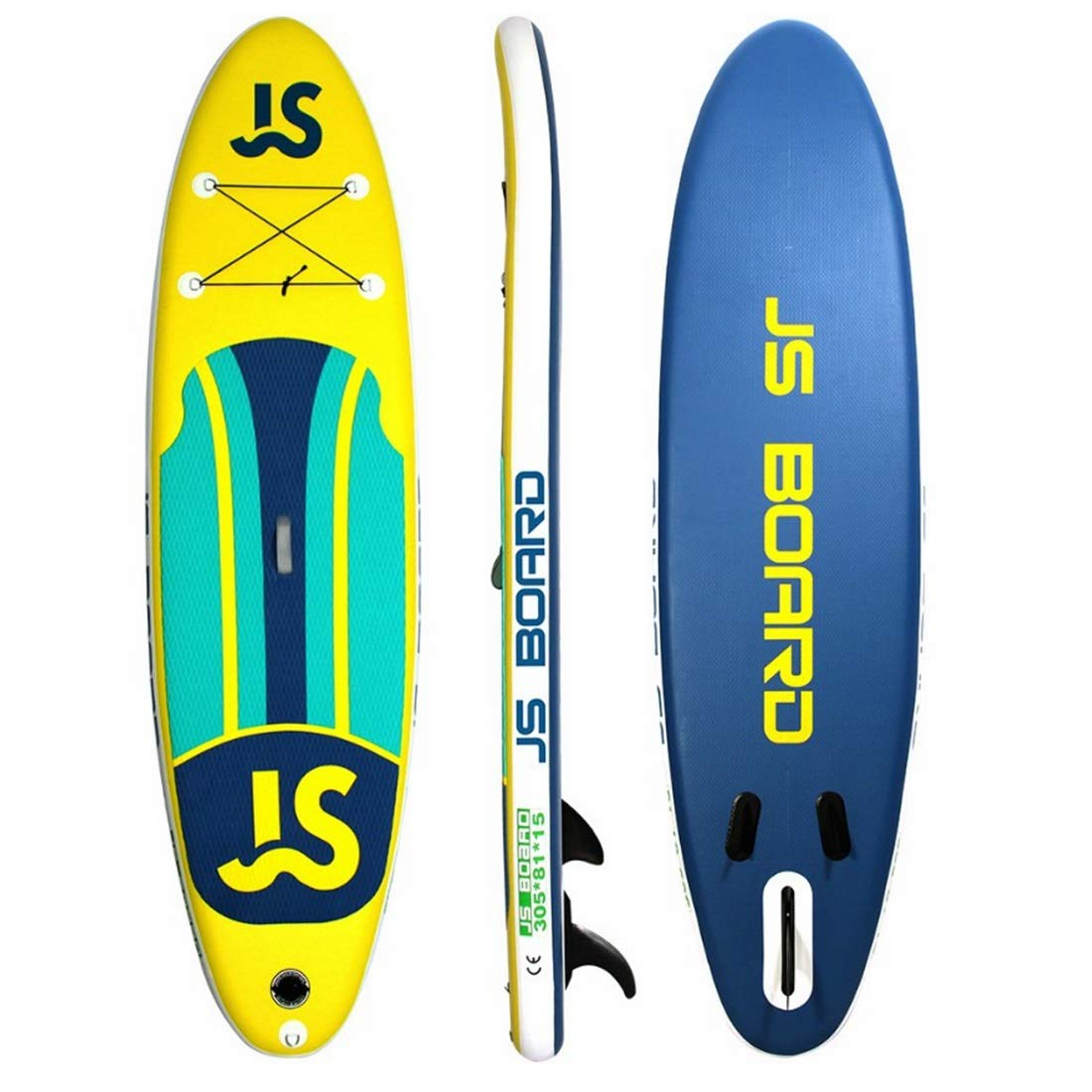 Amazon.com : AUSWIEI 10.9Soft Top Surfboard Inflatable Surfboard Adult SUP Board Paddle Board Package Includes Standard Items (Color : Yellow, ...
