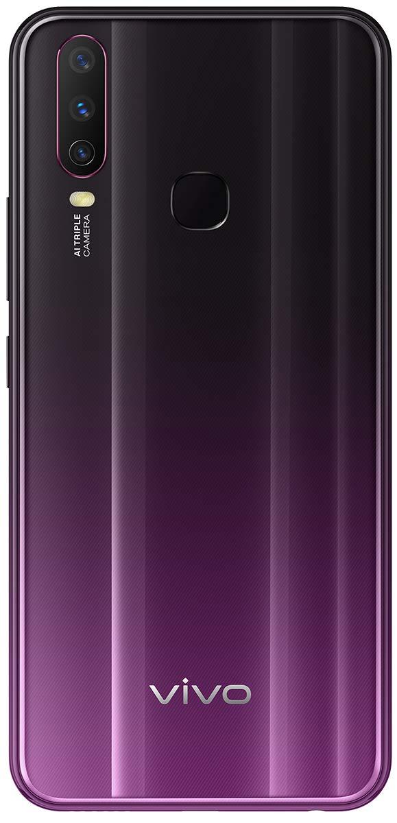 Vivo Y17 Mystic Purple 4gb Ram 128gb Storage With No Cost Emi Additional Exchange Offers