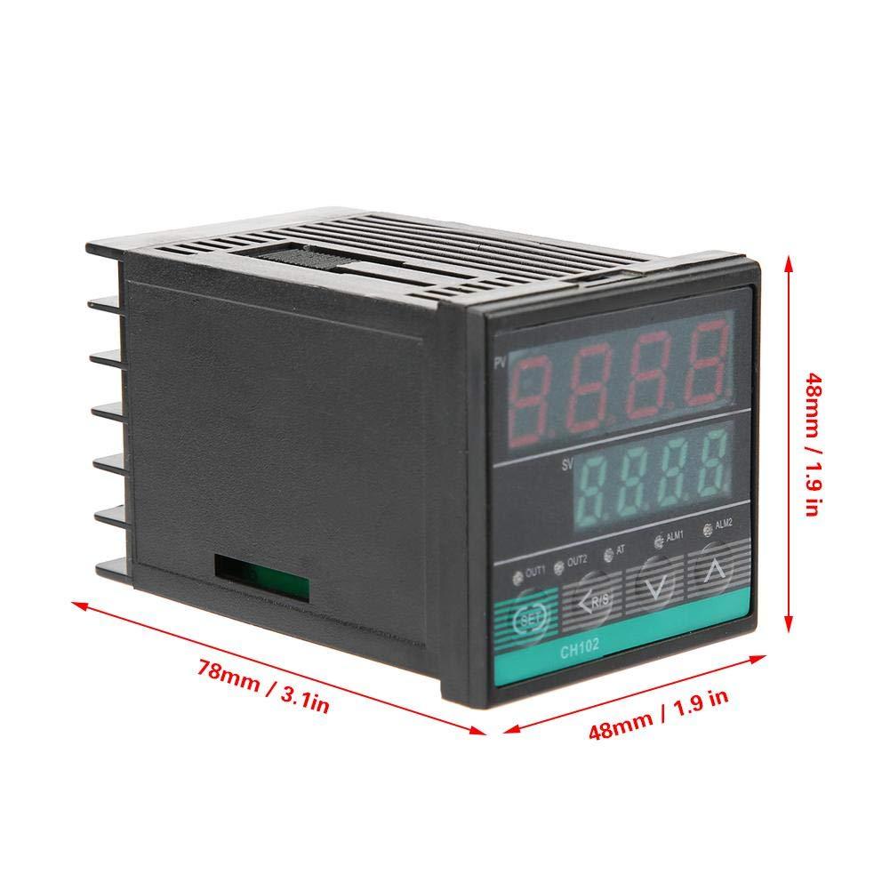 REX-CH102FK02-MV /× AB RELAY//SSR Controlador de Temperatura de Salida con Funci/ón de Alarma