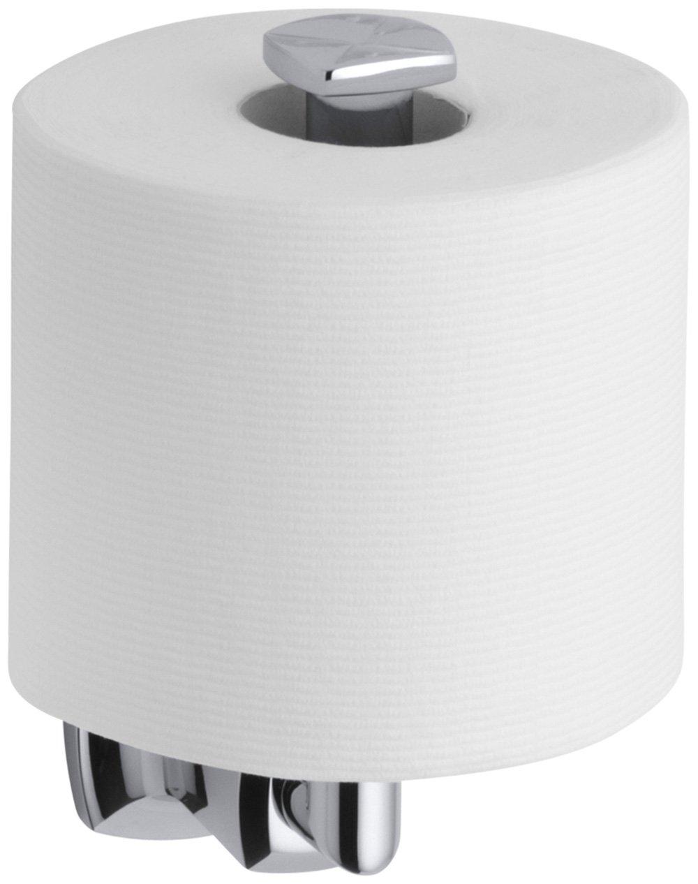 KOHLER K-16255-CP Margaux Toilet Tissue Holder, Polished Chrome