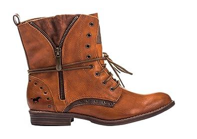Noisette D'équitation Femme Mustang Shoes Bottines Chaussures 6Tqw1xvHXn
