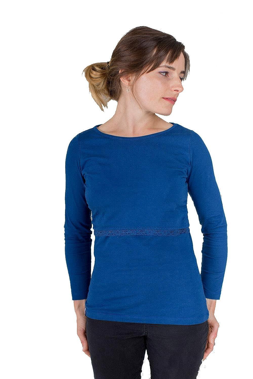 Organic and Ethical. Bshirt Breastfeeding Nursing Long Sleeve Top