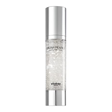 Caviar Pearls - 3 veces Gel Concentrado de Ácido Hialurónico 50 ml, Suero Liquid Lift