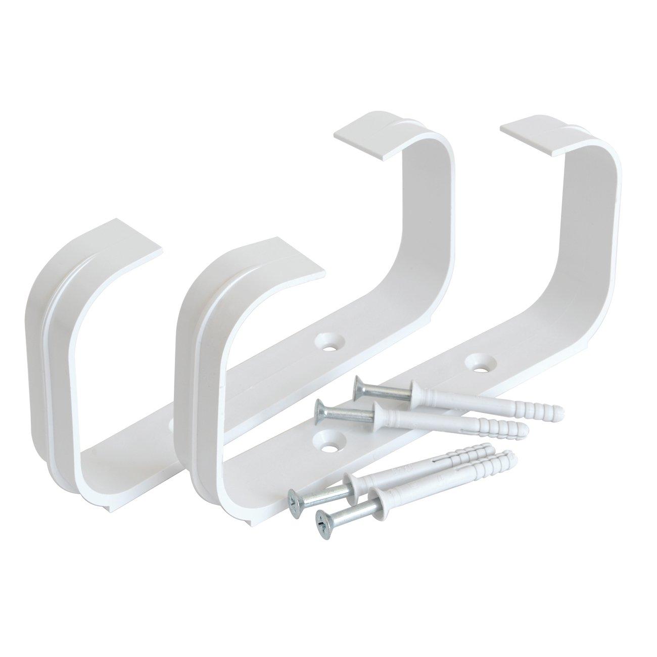 150/x 70/mm 2/soportes fermatubo con tornillos y tacos para tubo rectangular La ventilaci/ón stv2157b NR