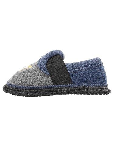 4f9fab6bfee6d9 Steiff Kinderschuhe - Hausschuhe Kinder Jungen Schuhe grau blau Bobby