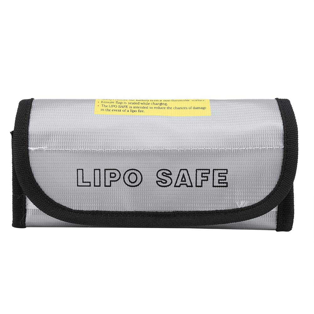 Haofy Sac ignifuge LiPo Batterie Antidéflagrant Poche de protection pour sac de protection