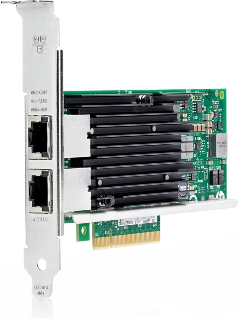 HP Ethernet 10Gb 2-port 561T Adapter Al/ámbrico, PCI-E, Ethernet, 10000 Mbit//s, Intel X540, IEEE 802.3, IEEE 802.3ad, IEEE 802.3x Accesorio de red
