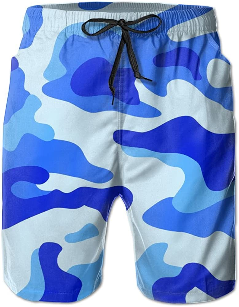 Monwe Army Special Forces Unit Mens Summer Casual Shorts,Beach Shorts Board Shorts