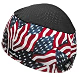 Do Wrap/Wickie Wear Genuine Do Wrap Sweatvac Ventilator Cap - American Flag 65201833030