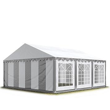 TOOLPORT 3x6 m Tente de réception/Barnum Gris-Blanc Toile de Haute ...