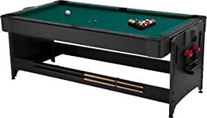 Fat Cat Original 2-in-1, 7-Foot Pockey Game Table (Air Hockey and Billiards)