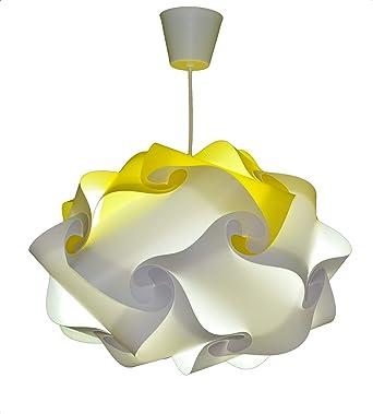 CREATIV LAMP - Suspension Luminaire   Abat-Jour à Suspendre au Plafond    Pour Décoration Salon, Chambre Enfant, Ado, Adulte   Ampoule Led Incluse -  ...