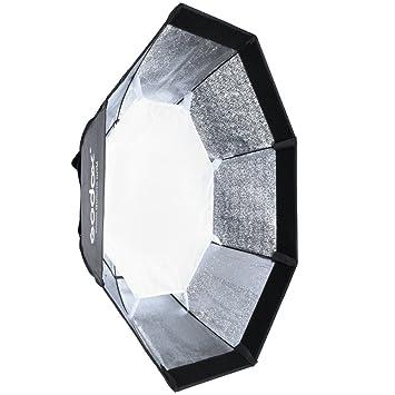 Godox 95 cm Bowen Octagon Rejilla de panal Paraguas Flash Speedlite para Studio Luz Estroboscópica,