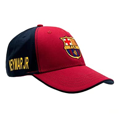 FCB FC Barcelona - Gorra de Neymar (Talla Única/Rojo/Azul): Amazon ...