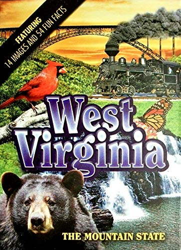 West Virginia The Mountain State Playing Cards