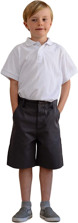 unik Boys Uniform Shorts with Adjustable Waist