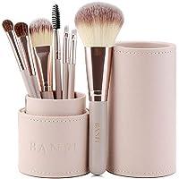 Premium 7pcs Makeup Brushes Set With Luxury Travel Box Foundation Cosmetics AU