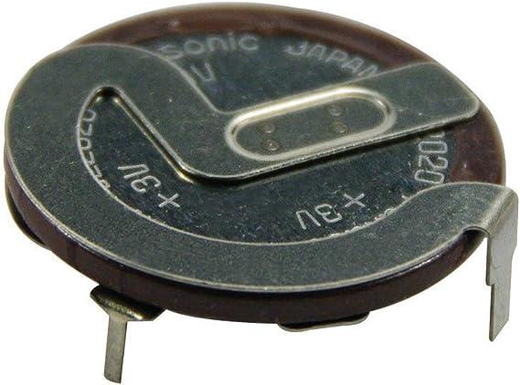100 Original Neu Für Panasonic Vl2020 Vanadium Wiederaufladbar Batterie 90 Grad Vl2020 Auto Schlüsselanhänger Akku Mit Beinen Auto
