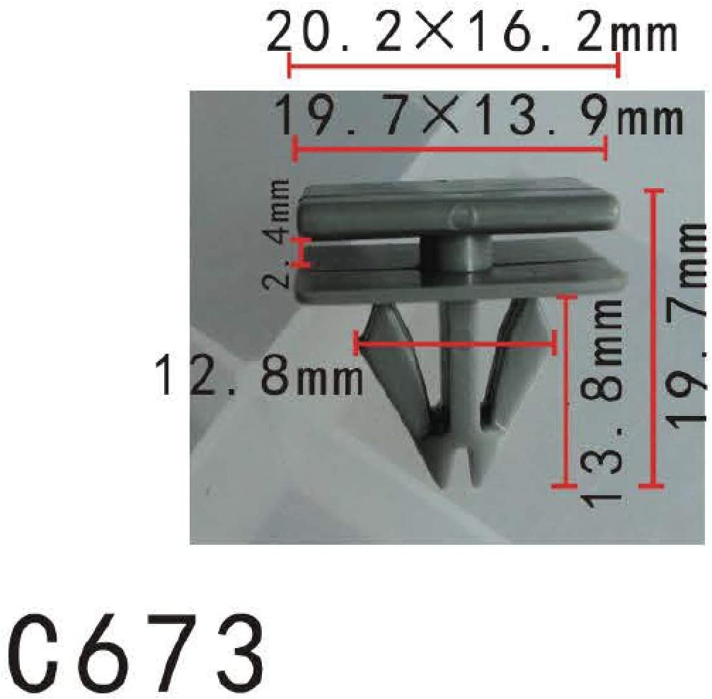 10 X AUTOBAHN88 BUMPER FENDER 28mm Long Self Tapping Screw Fit For GM TRUNK
