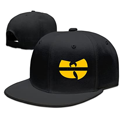 fc54324a94395 Gorra negra Hittings Wu-Tang Clan Enter The Wu-Tang RZA GZA  Amazon ...