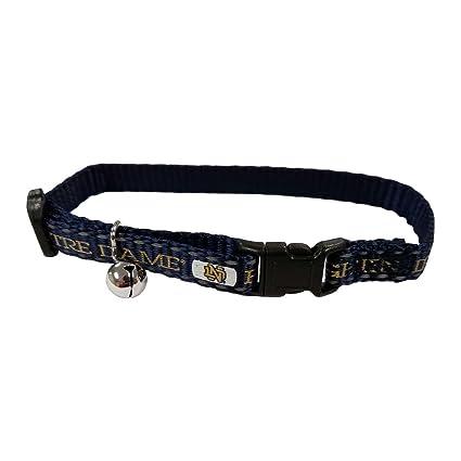 notre dame dog collar