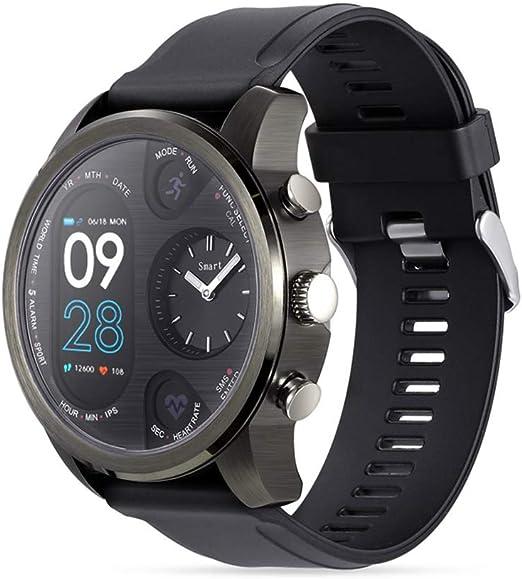 HUIGE SmartWatch 1,4 Pulgadas Pantalla OLED, Android Wear 2.0 ...