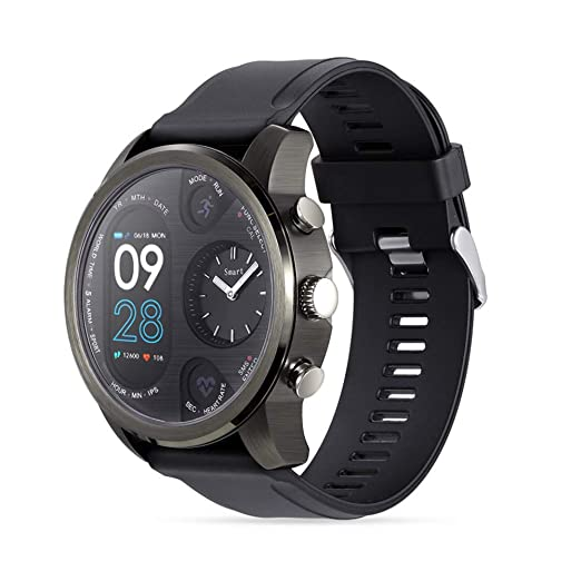 HUIGE SmartWatch 1,4 Pulgadas Pantalla OLED, Android Wear ...