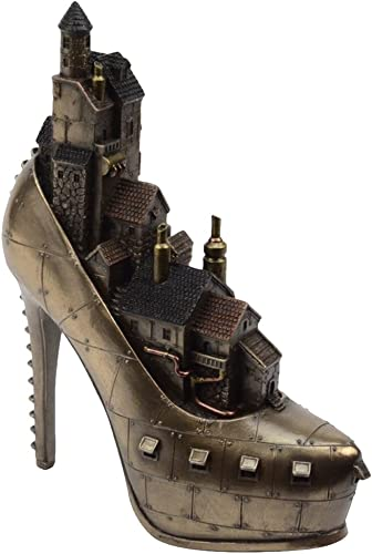 Steampunk Stiletto Hill Ironopolis Cold Cast Resin Figurine