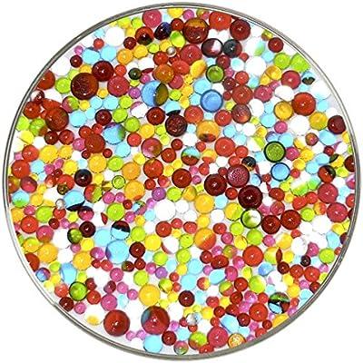 Neón Designer Collection bolas Frit – 90 COE, nuevo tamaño grande 1oz – de Vidrio Diana: Amazon.es: Juguetes y juegos