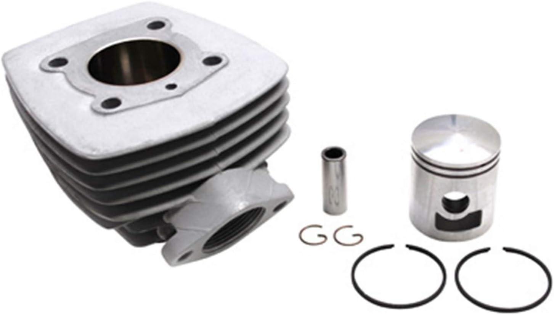 Dichtung Aluminium Nikasil Airsal Flansch + Mutter Motodak Zylinder f/ür Peugeot 103 Air