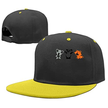 Gorras béisbol Baseball Caps Hip Hop Hats Koala Panda Fox Boy-Girls